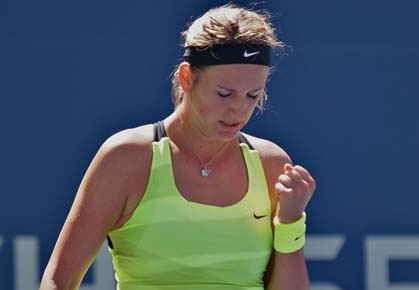 Victoria Azarenka tears through Linz