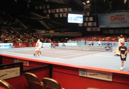 Ballkids at the 2012 Erste Bank Open in Vienna, Austria