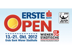 Erste Bank Open in Vienna, Austria, starts October 15, 2012
