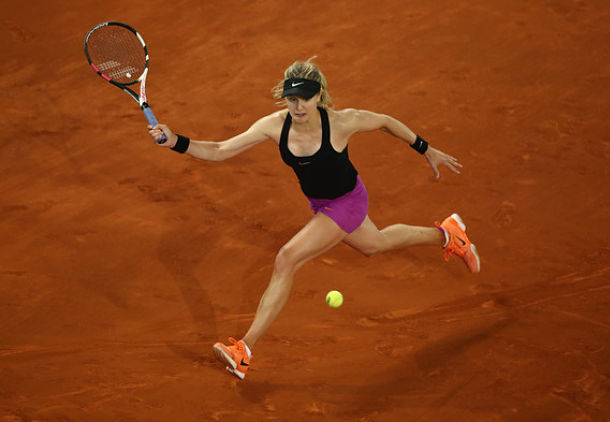 Bouchard Catching Fire, Sets Kuznetsova Clash in Madrid QF