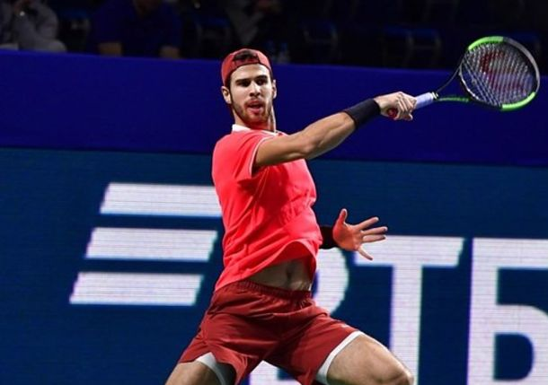 Khachanov Unstoppable in Moscow, Rolls to Third Title