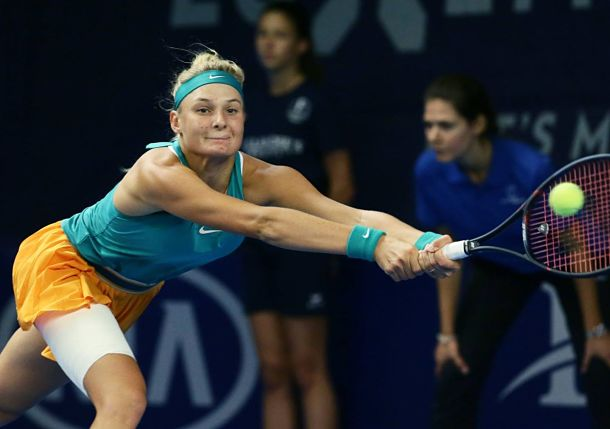 Yastremska Rides Hot Hand into Luxembourg Semis