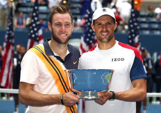 Mike Bryan and Jack Sock Claim U.S. Open Doubles Title