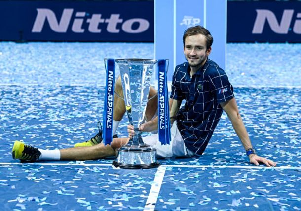 Masterful Medvedev Makes ATP Finals History in London