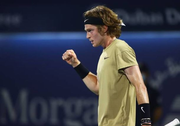 Can't Stop Rublev's Roll: Russian Dispatches Fritz to Reach Dubai Quarterfinals