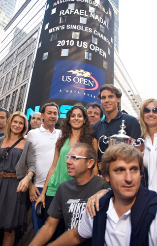 Behind The Scenes With Rafael Nadal In New York Tennis Now