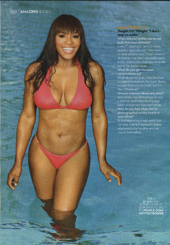 Serena William s Most Amazing Body in People MagazineVenus Williams Body Measurements
