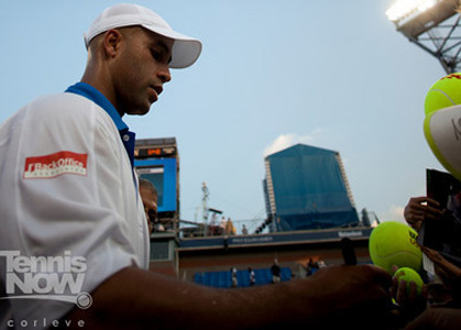 Thanks For Memories Andre >> James Blake Gives Thanks For The Memories Tennis Now