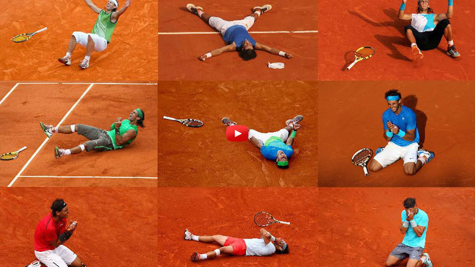 The Ten Greatest Clay-Court Achievements of Rafael Nadal's Career