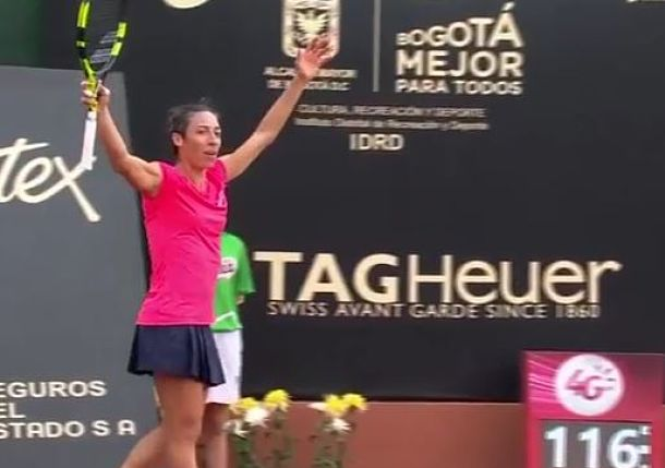Schiavone Turns Back Clock, into Bogota Final