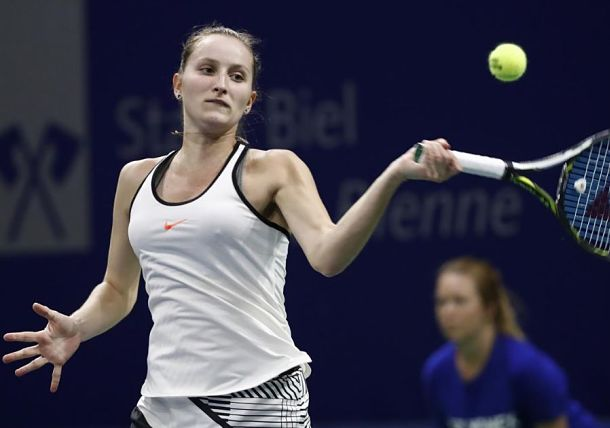 17-year-old Vondrousova Reaches First Final in Biel