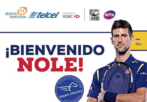 Djokovic accepts wild card into Acapulco, joining Nadal and del Potro