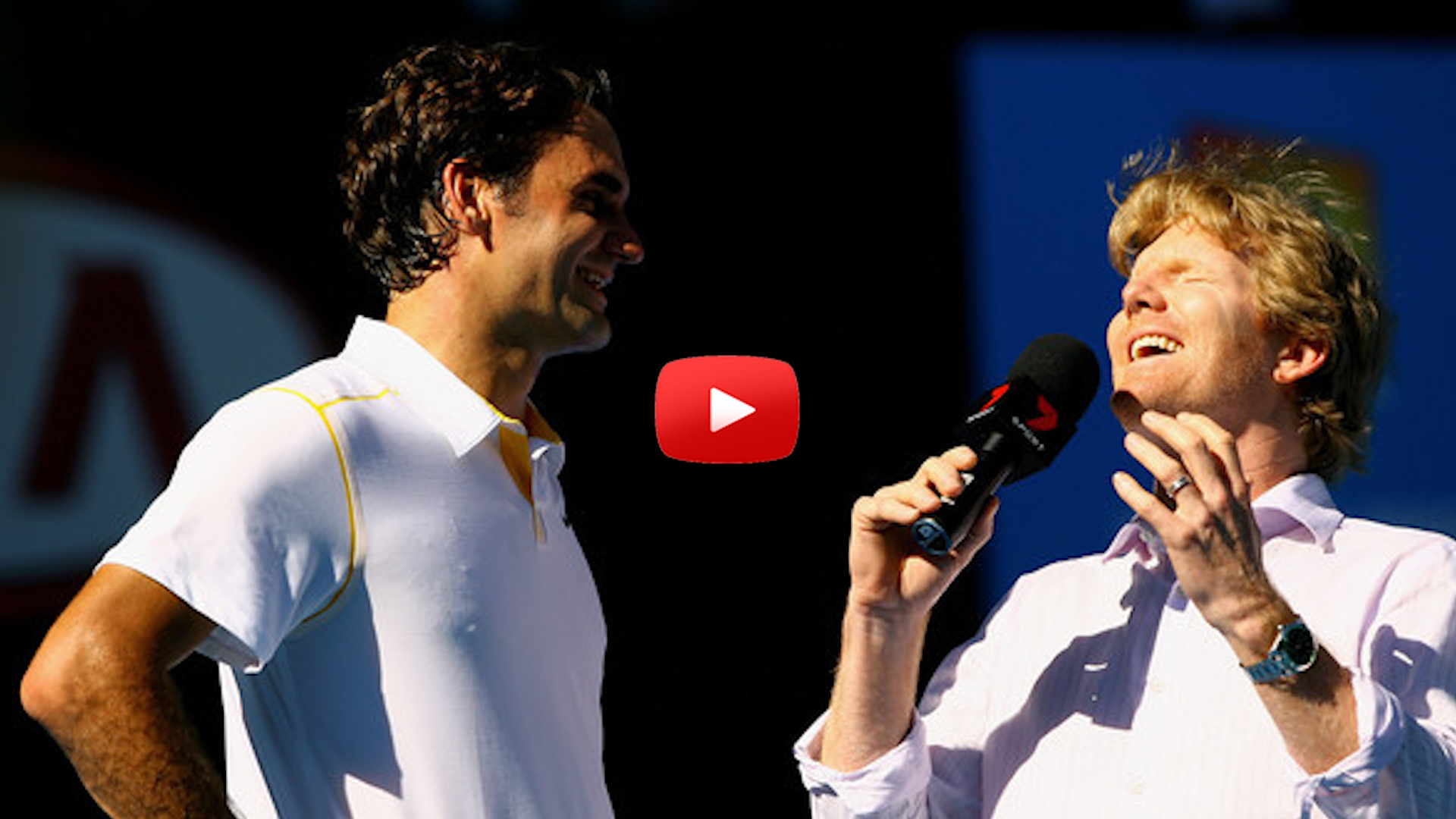 Eight Hilarious Tennis Interviews featuring Rafa Nadal, Ernests Gulbis, Maria Sharapova and Roger Federer