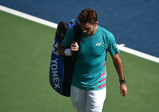 Wawrinka Stunned out of Dubai, Murray Advances