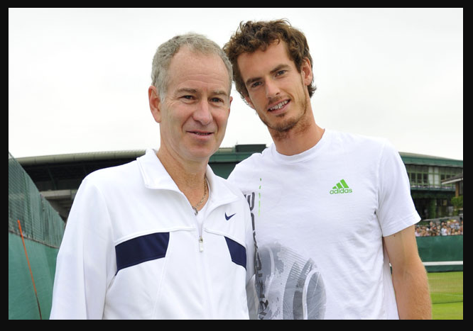 Mac vs. Murray-Rock Star Saved McEnroe-Sharapova Racing