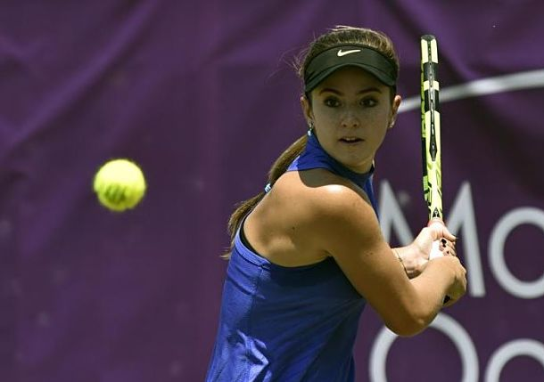 In First WTA Event on Grass, Bellis Reaches Semis