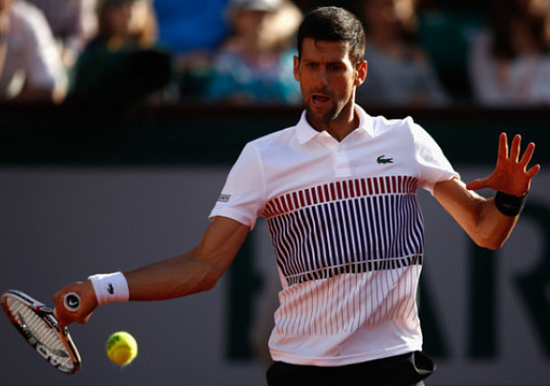 Watch: Djokovic Practices with Former Coach Marian Vajda