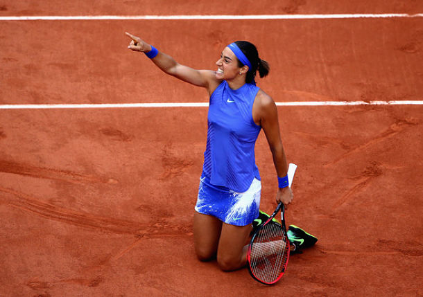 Garcia Wins All-French Affair, Pliskova Keeps No.1 Hopes Alive
