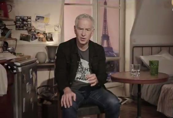 From One Legend to Another--McEnroe Lambastes Court