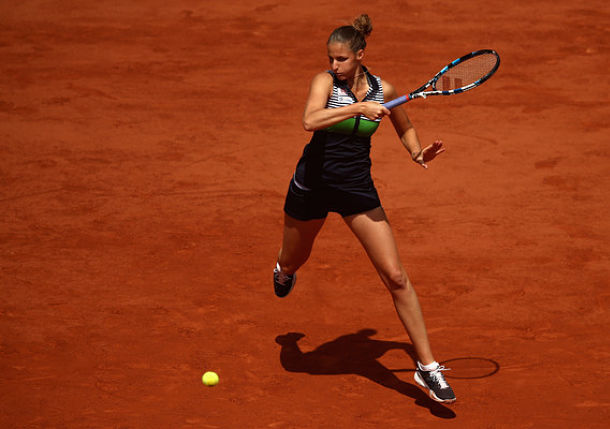 Pliskova Closing in on No.1 in Paris