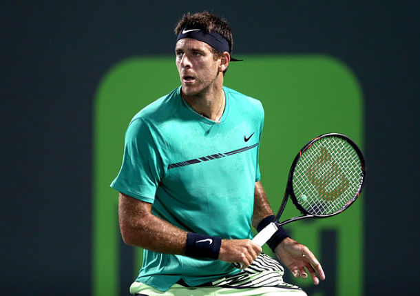 Del Potro Sets Federer Clash, Kyrgios Also Wins