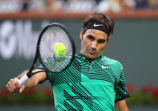Federer Cruises Past Sock, Sets All-Swiss Final at Indian Wells