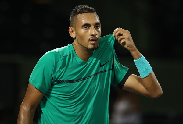 Kyrgios Edges Zverev in Zany, Intense Miami Thriller