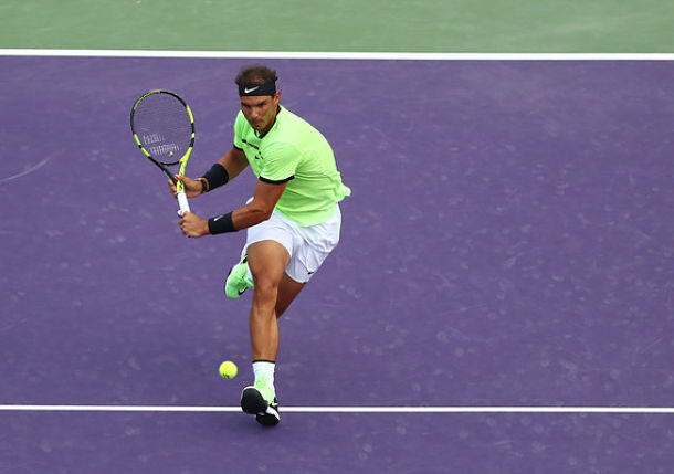 Resilient Nadal Overcomes Fast-Starting Kohlschreiber in Miami