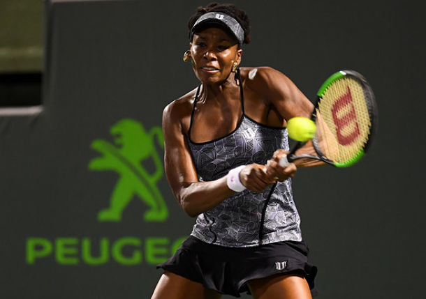 Venus Williams Continues Run at Miami Open
