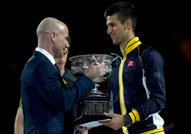 Djokovic Hires Agassi As Coach