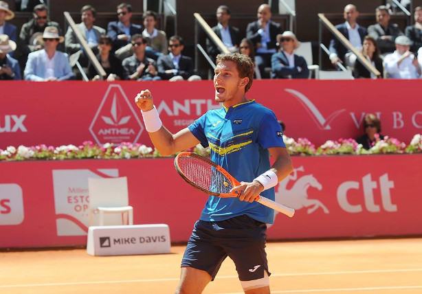 Carreno Busta Cruises Into Estoril Final