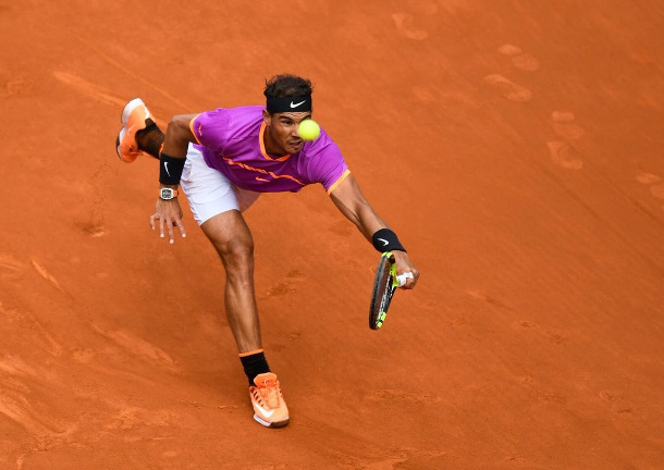 Nadal Fights Off Fognini In Madrid