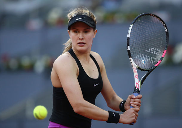 Bouchard Wins, Keys Falls on Day 1 in Madrid