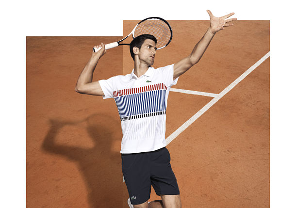 Novak Djokovic is Lacoste's New Crocodile