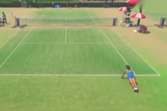 Watch: Player Does Pushups Between Points in ITF Event