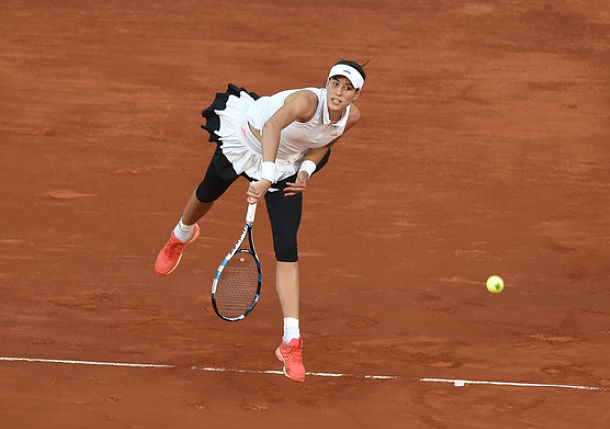 Muguruza Earns First Clay Victory Since Roland Garros '16