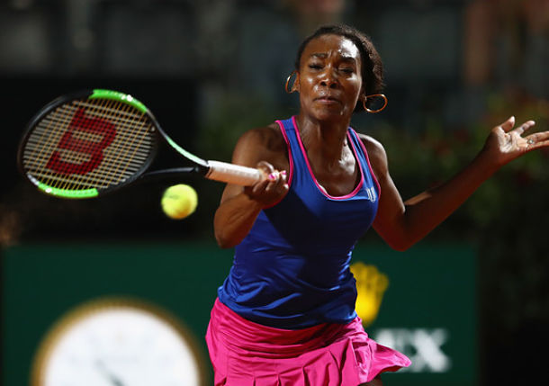 Venus Williams Sets Konta Clash in Rome
