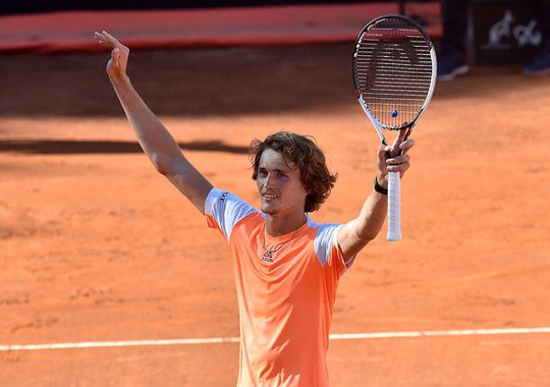 Zverev's Shining Moment Comes on the Red Roman Clay