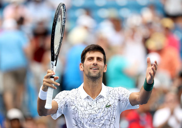 Djokovic Survives Double Duty to Keep Cincy Title Hopes Alive