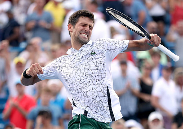Masterful Djokovic Makes History with Win over Federer in Cincinnati