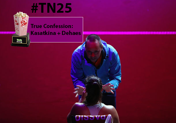True Confessions Award: Daria Kasatkina and Coach Philippe Dehaes