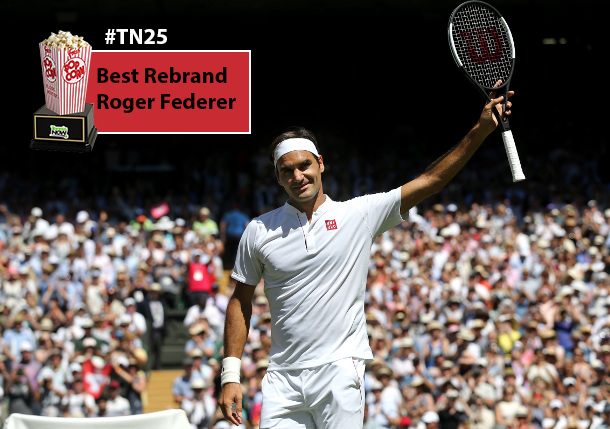 TN 25: Roger Federer Wins Best Rebranding Award