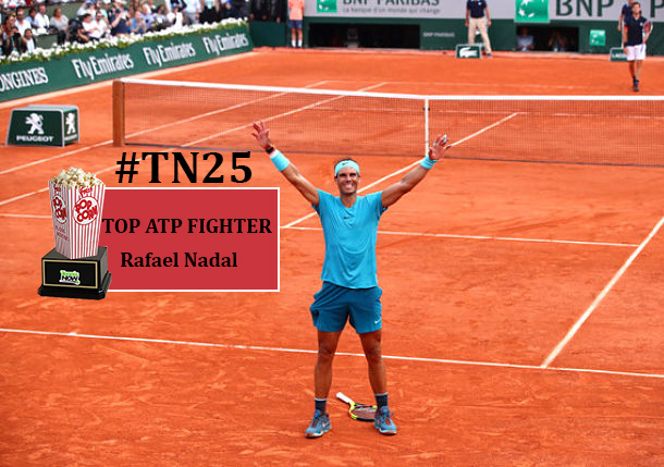TN 25: Rafael Nadal, Best ATP Fighter
