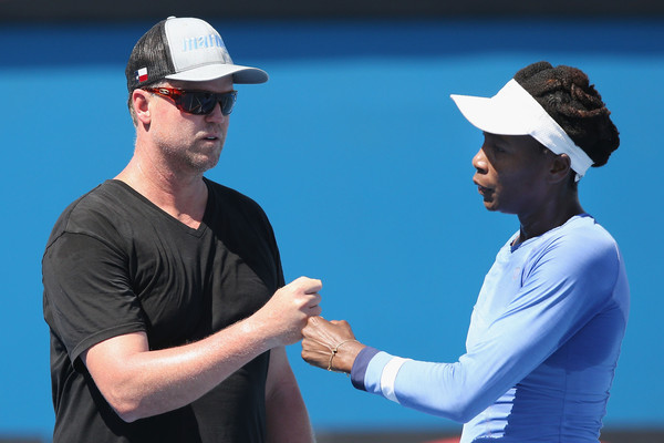 Venus Williams and Longtime Coach David Witt Part Ways