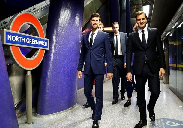 Video: ATP's Elite Crams into the London Tube for Trip to Westminster