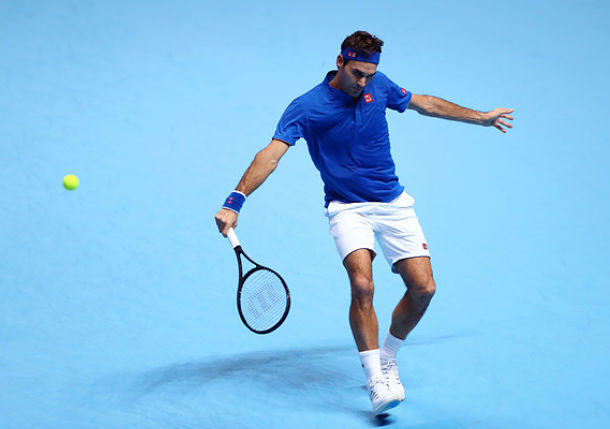 Federer Locks up Semifinal Bid with Win over Anderson at ATP Finals