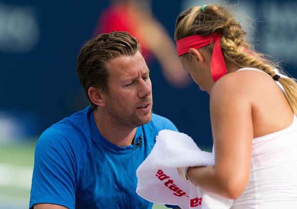 Wim Fissette Has Faith in Osaka's Ability to Problem Solve