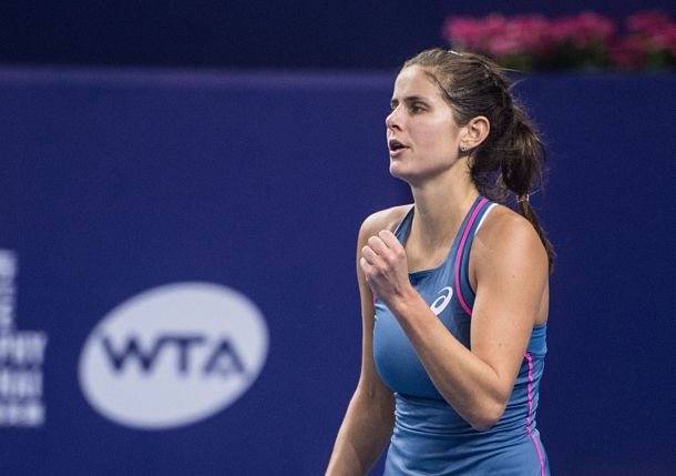 Defending Champion Goerges Reaches Zhuhai Semis