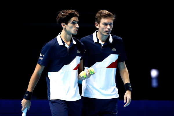 Herbert and Mahut Round out Semis at ATP Finals