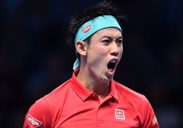 Nishikori Takes Down Federer on Opening Night at ATP Finals